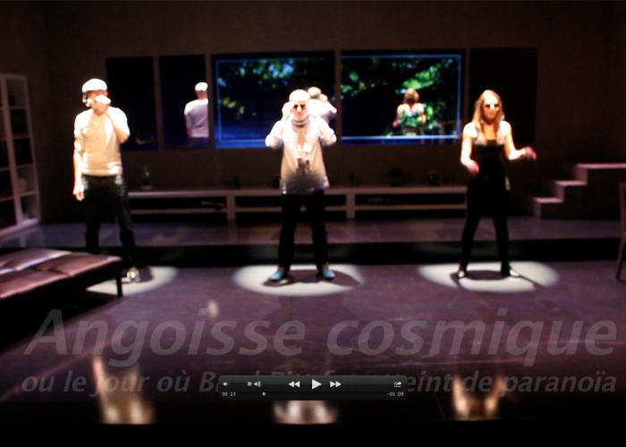 Promo spectacle – Angoisse Cosmique